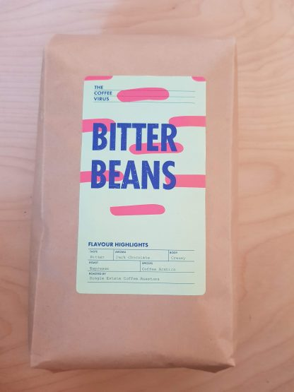 1 kilo koffiebonen - bitter